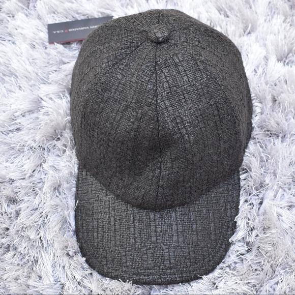 (John Varvatos) Baseball Merino Wool Hat e386a9f8ecca